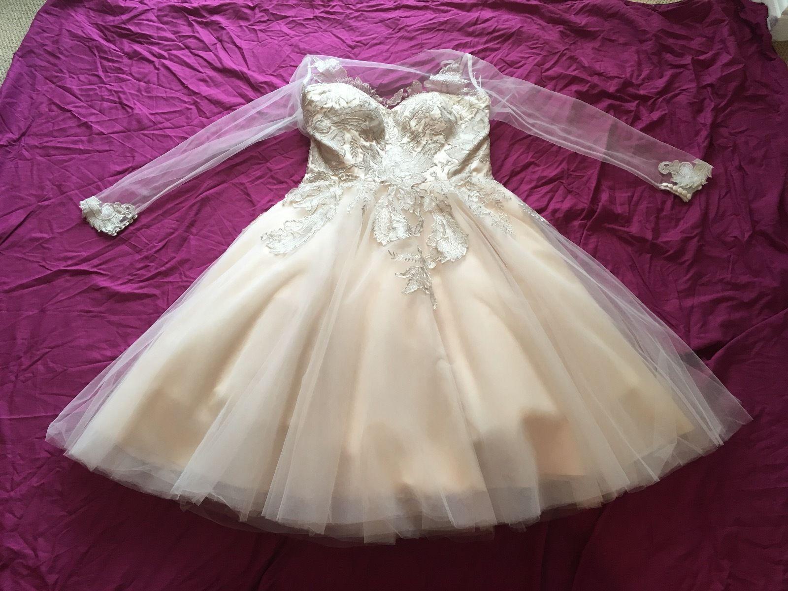 House Of Mooshki Sample Wedding Dress Save 20   Dresses, Wedding ...