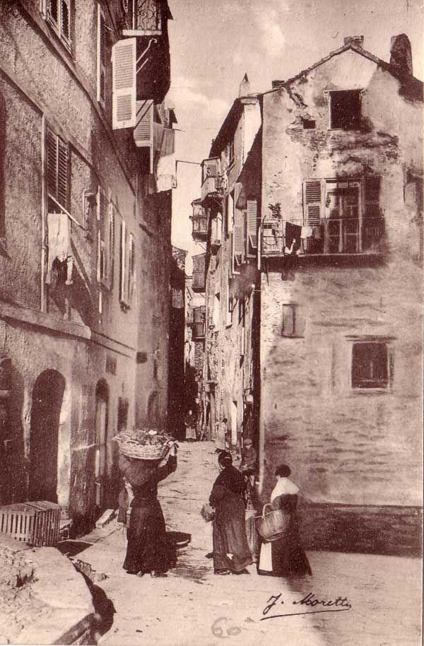 Collection de cartes postales anciennes de la ville de Bastia Haute Corse   Bastia, Carte ...