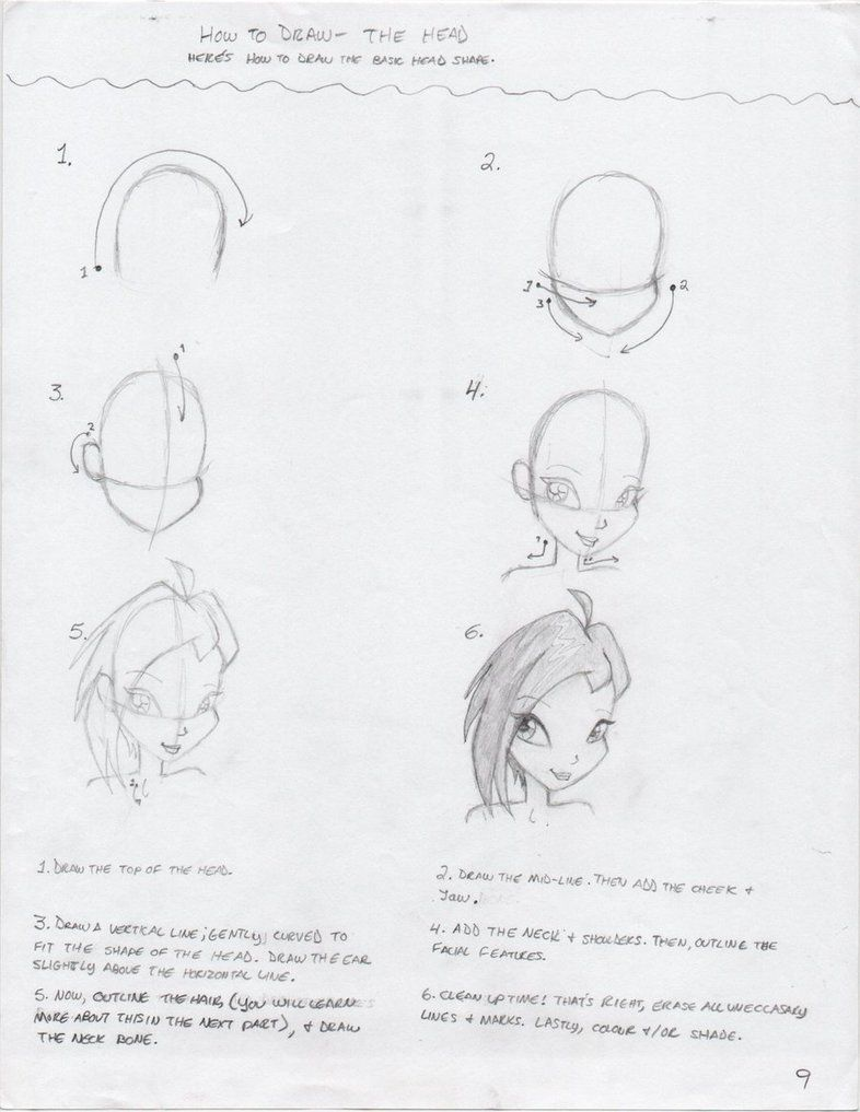 How to draw winx 88