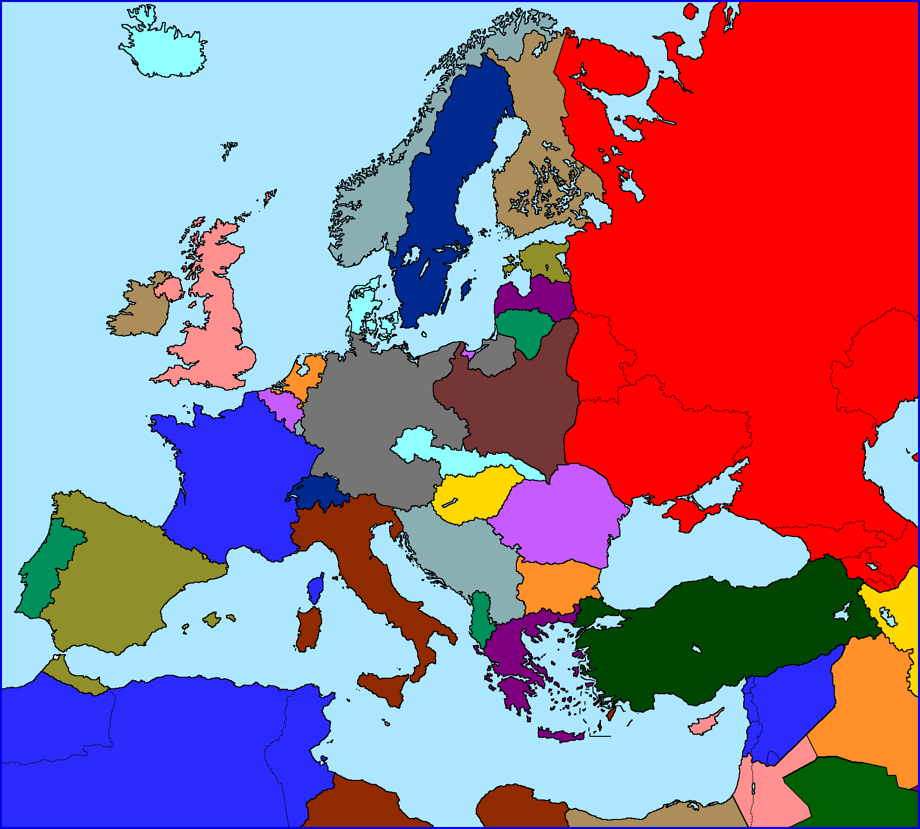 Europe In The Year 1938 Map Maps And Flags Map Europe History