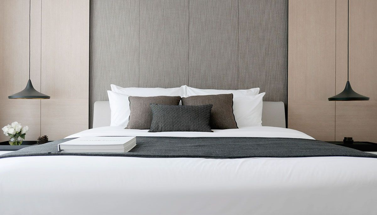 Interior design of master bedroom green haven show suite c malaysia on behance  my home  pinterest