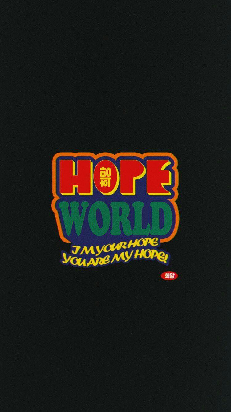 Hopeworld In 2019 Bts Wallpaper Aesthetic Iphone