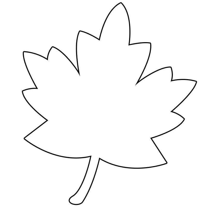 Yaprak Sablonlari Aplike Sablonlari Faaliyetler Ve Boyama Sayfalari