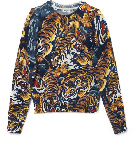 d303e3c3f40 This doesn't look like Ed Hardy, right? (Kenzo Flying Tigers Sweater ...
