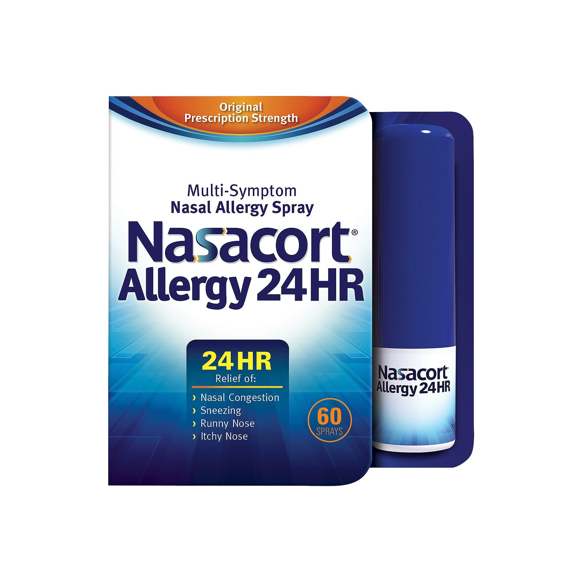 Nasacort Allergy 24HR Multi-Symptom Nasal Spray - 60 ...