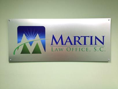 Brushed Aluminum Laminated Sign 1 4 Thick Acrylic Pvc With Digitally Printed Logo And Tag Line Like T Custom Business Signs Acrylic Sign Business Signs