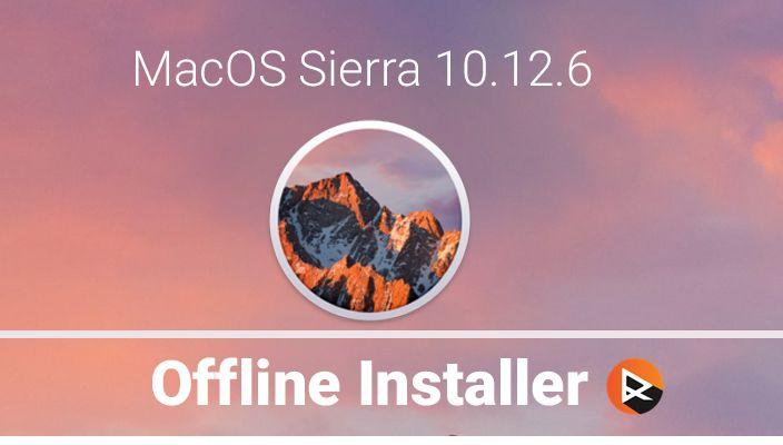 sierra 10.12.6 dmg