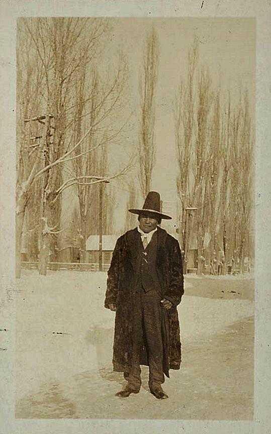 Wovoka (aka The Cutter, aka Big Rumbling Belly, aka Jack Wilson) - Paiute - 1916 | Yerington, Native american history, Native american peoples