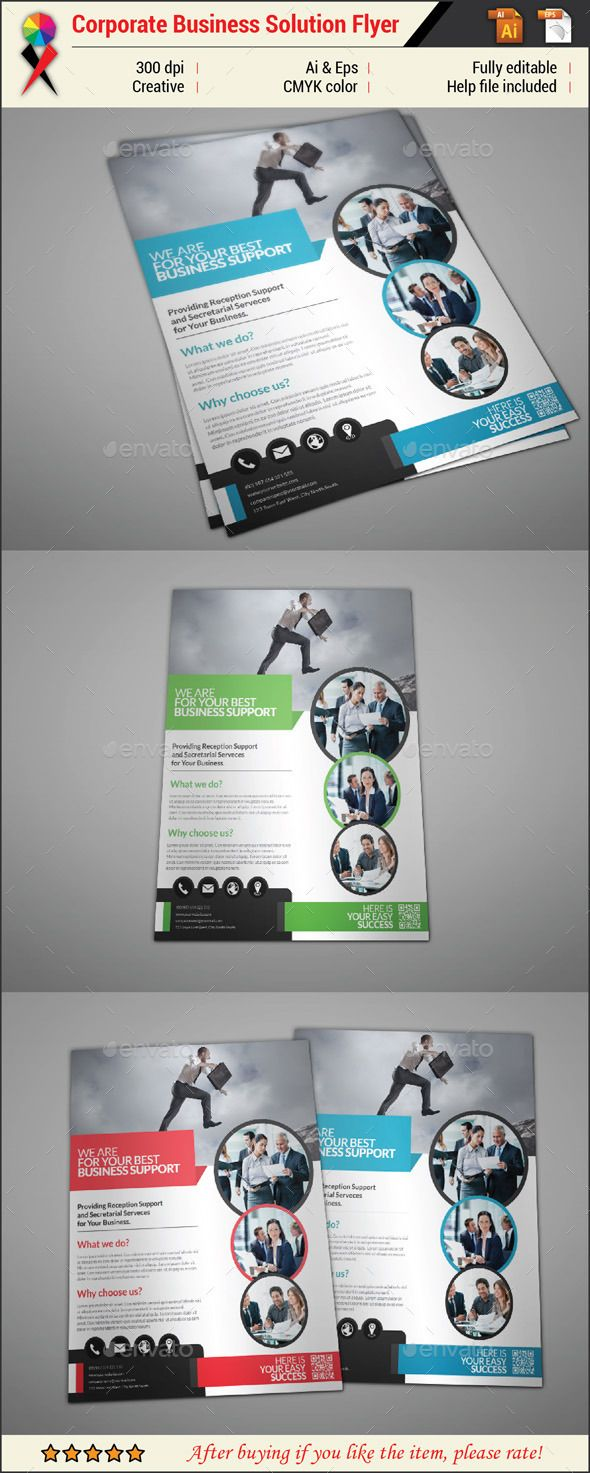 Professional Business Flyer  Business Flyers Flyer Template And