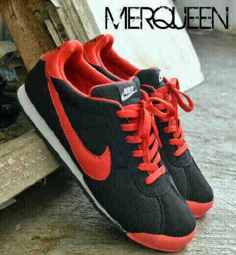 Sepatu Casual Nike Merqueen Hitam Merah Kwsuper 160rb Kode