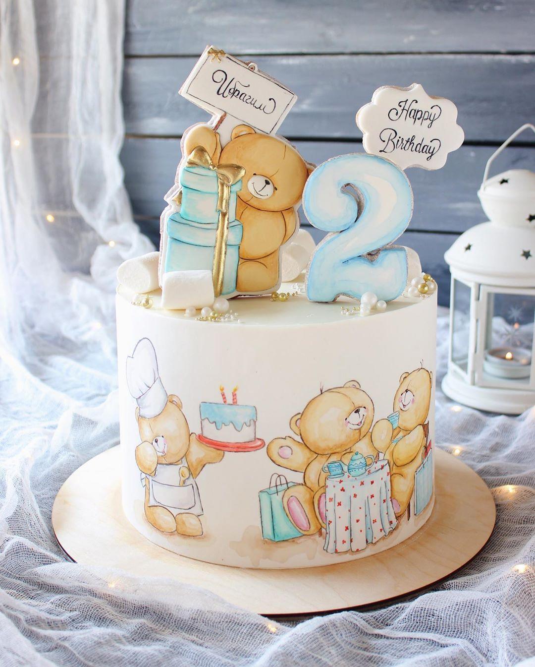 Нет описания фото.   Торт на день рождения, Торт для ...