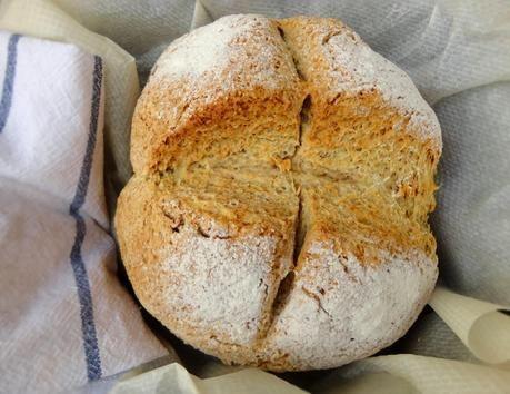 Pan Irlandés (Pan de Soda = Soda Bread)