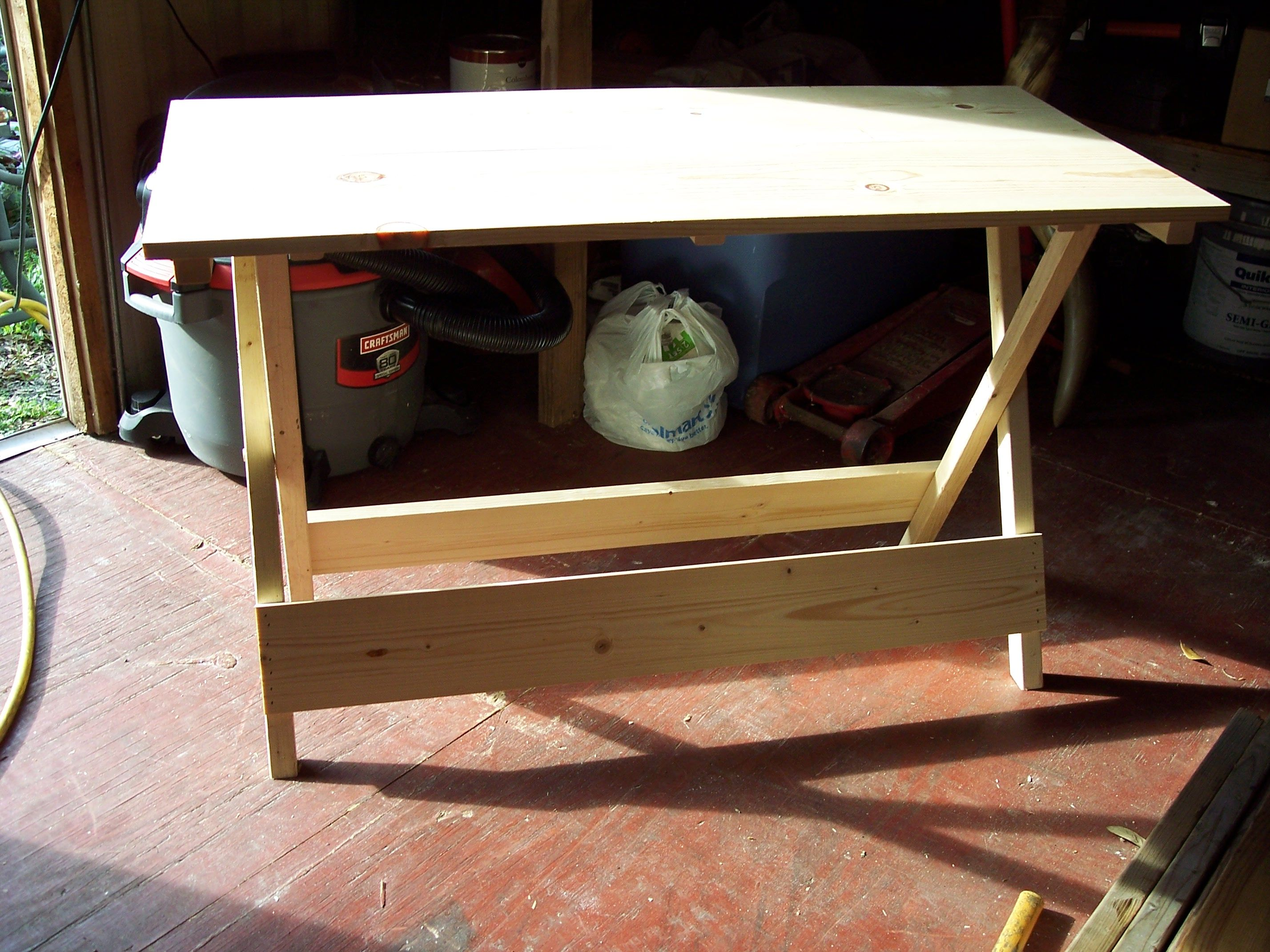 Folding camp tables that i build camping table