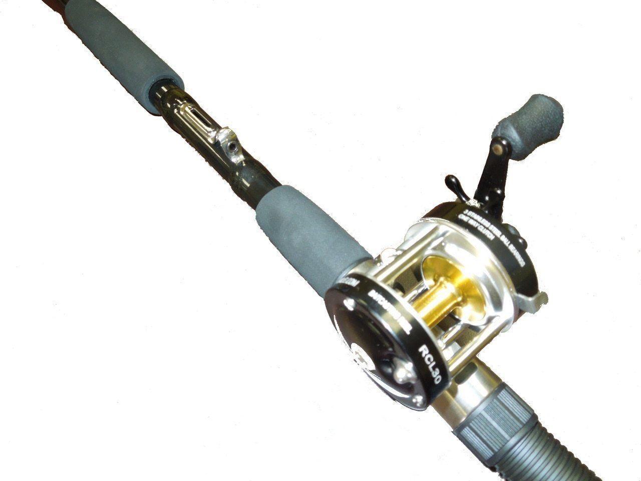 how to use a baitcaster pole