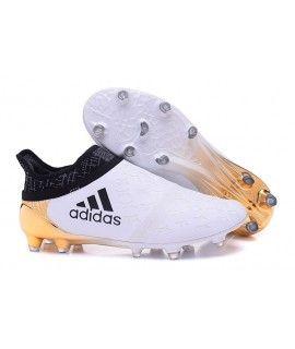 Adidas X 16 Purechaos Fg Ag Fodboldstøvle Blødt Underlag Kunstgræsmen Fodboldstøvler Hvid Guld Hvid Adidas Soccer Shoes Soccer Cleats Adidas Soccer Shoes