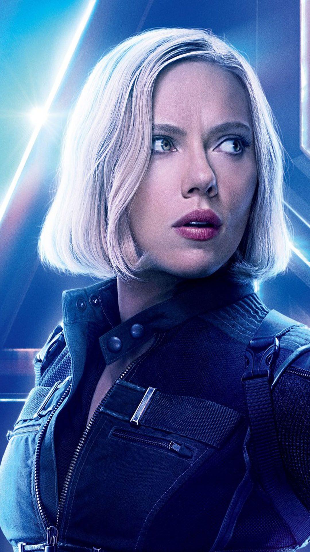 Scarlett Johansson In Avengers Infinity War Black widow
