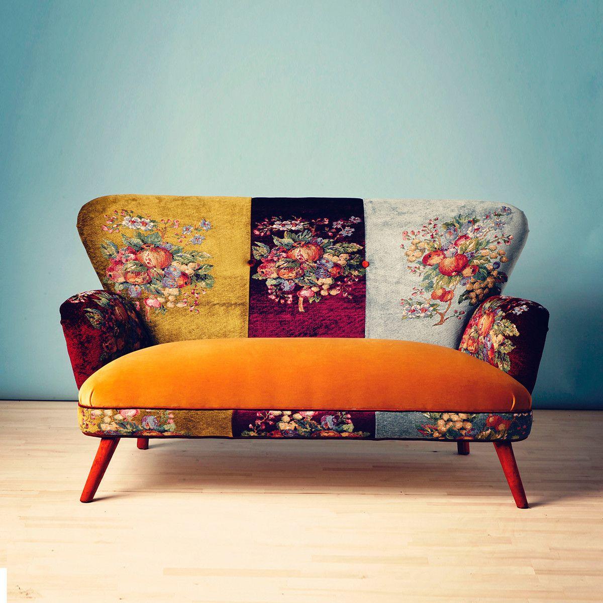 eu sofa gobelin senfgelb furniture i like pinterest m bel senfgelb und ohrensessel. Black Bedroom Furniture Sets. Home Design Ideas