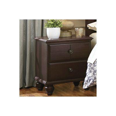 Carolina Furniture Works, Inc. 2 Drawer Nightstand