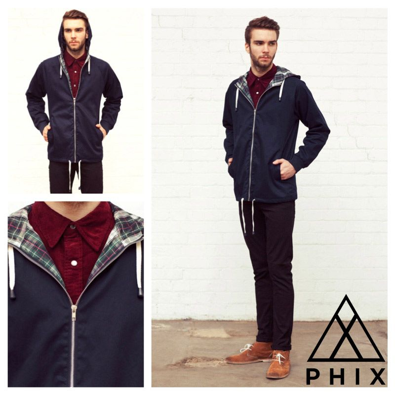 Today's Daily Fix: Pop Anorak Navy...    £35