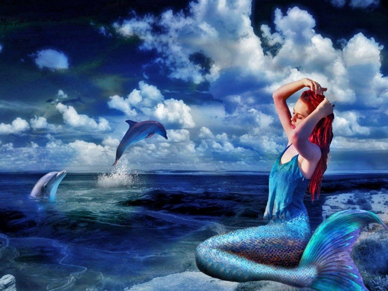 Mermaid Wallpaper Zedge Mermaid wallpaper backgrounds