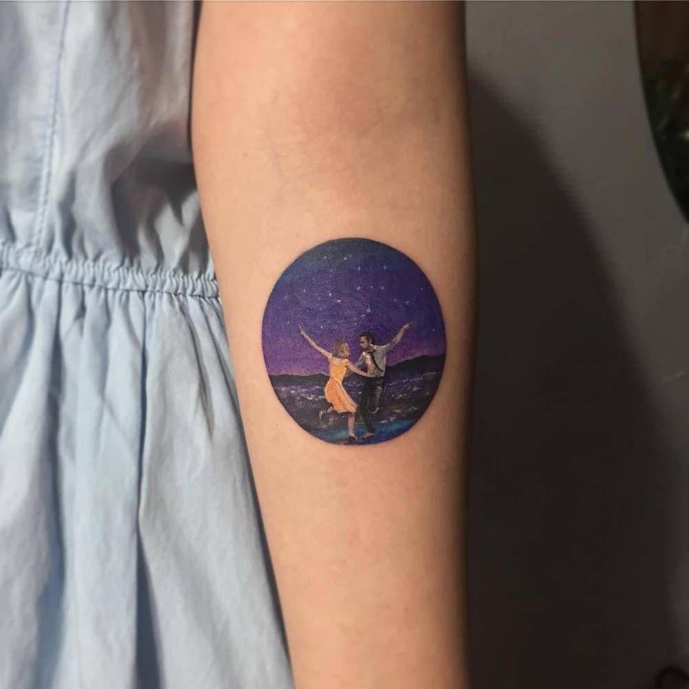 Lalaland Tattoo - Lalaland Tattoo You are in the right place about mermaid tattoo  Here we offer you the most beautifu - #cutetattoo #hiptattoo #inspirationaltattoo #Lalaland #Tattoo #tattooleg #wavetattoo