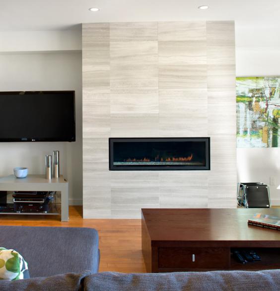 Mare Bianca Travertine Fireplace Design Fireplace Tile Modern Fireplace