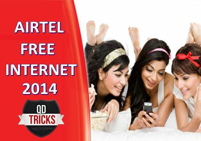 Airtel Free 3G Trick April 2014 Qd Tricks