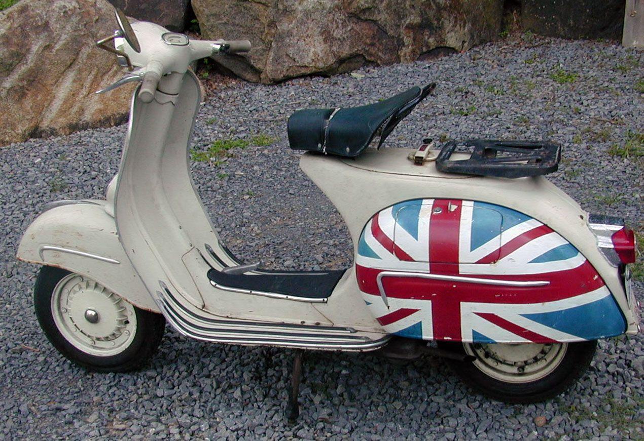 1964 Vespa Gl 150 Scooters Pinterest