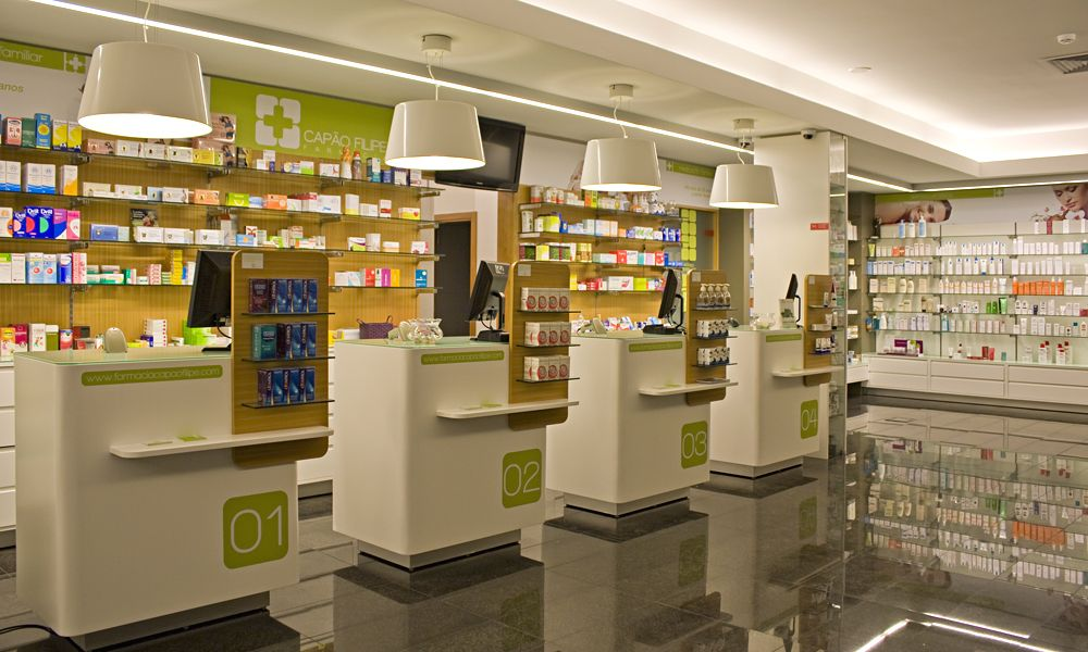 office designs pharmacy interior on behance