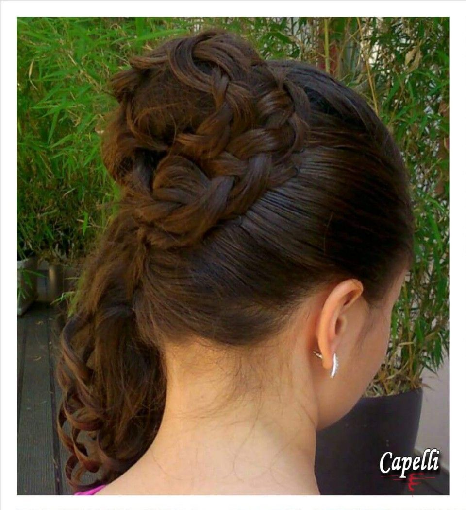 braided bridal upstyledraženka marelja, hair salon capelli