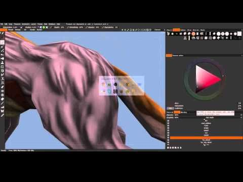 3D game model painting time lapse 3D Coat YouTube Game design