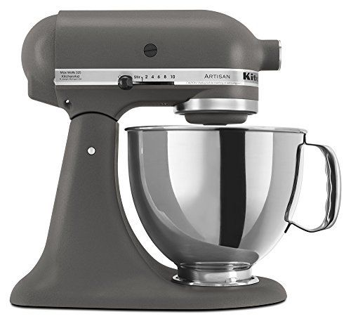 637448861f1 Imperial Grey KitchenAid Artisan Series 5-Qt. Stand Mixer with Pouring  Shield - Imperial Grey KSM150PSGR