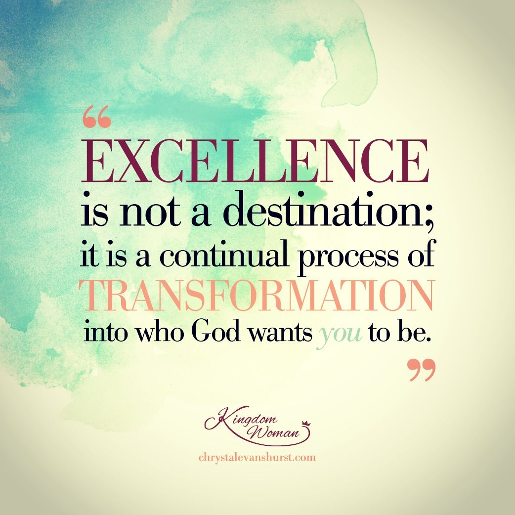 Inspirational Prayer Quotes: A #KingdomWoman Is A Woman Of Excellence!