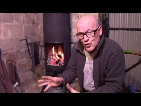 How To Build A Gas Bottle Pot Belly Wood Burner Stove With A Rope Seal Door With A Charcoal Forge F Youtube Wood Burner Stove Wood Burner Burners