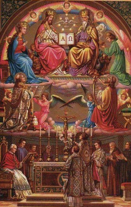 La Santa Misa Religiöse Bilder Katholische Kirche Christlich