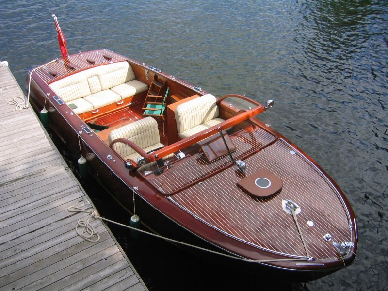 1950s 27 Ft Shepherd Commuter Marnie Boats Wooden Boats For