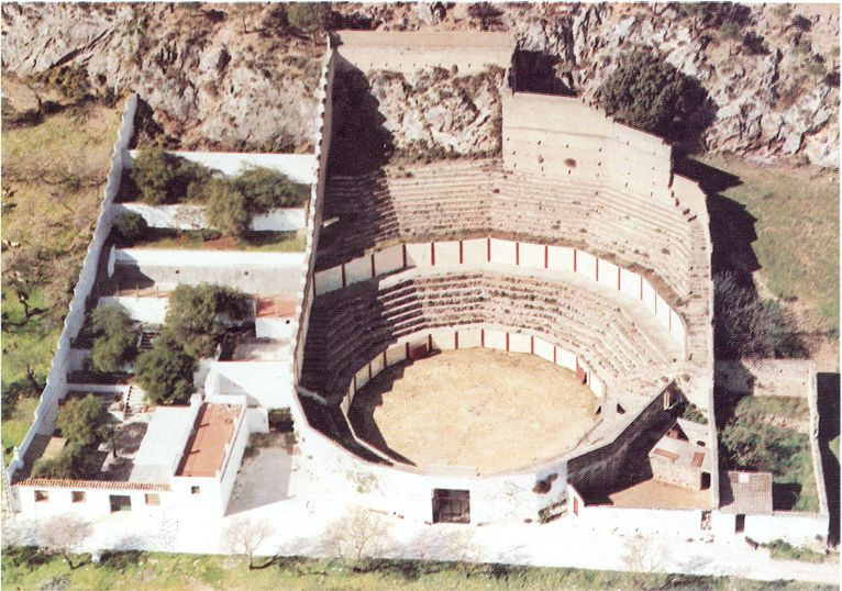 plazas de toros portátiles | plaza de toros de Carratraca