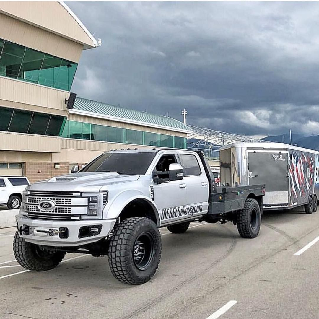 """The Muscle on Instagram """"F450 flatbed platinum stretched"""