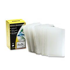 Laminating Pouch 10 Mil 2 1 4 X 3 3 4 Business Card Size 100 Pack Business Card Size Fellowes Kroger Couponing