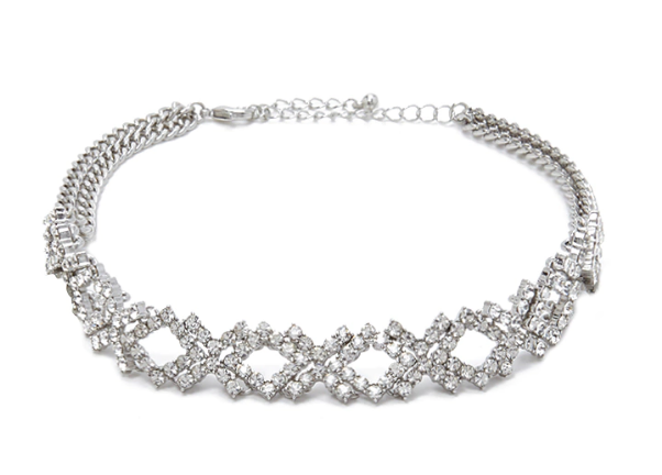 This choker that'll add just enough sparkle to your outfit. | 34 Pieces Of Jewelry That Won't Break The Bank