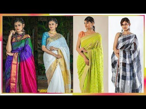 0c71fff9695db Latest Best Soft Silk Sarees Designer Border Collection