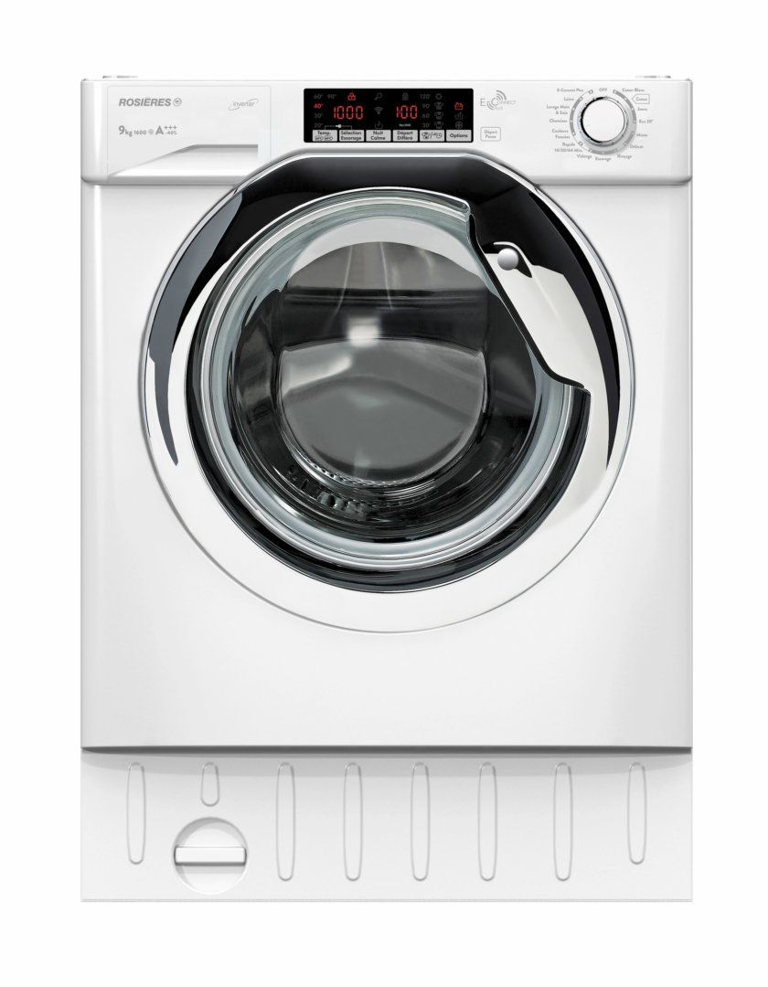 Lave Linge Integrable Design Chrome Rosieres Pour Votre Amenagement Schmidt Capacite 9kg Plus De 10 Pro Lave Linge Lavage Appareils Electromenagers