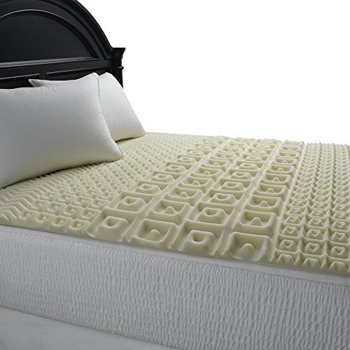 Bed Topper Simmons Beautyrest 5 Zone Contour Comfort Polyurethane