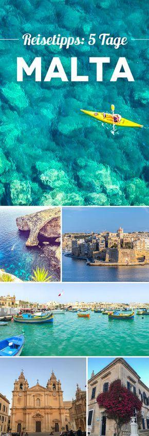 Malta en 5 días: 15 excelentes consejos de viaje y aspectos más destacados para su viaje a Malta