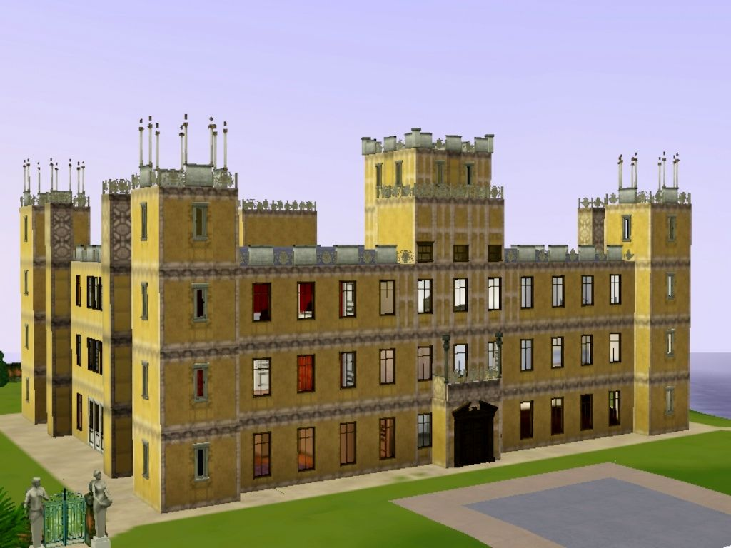 SIMianSIMS: Downton Abbey (Highclere Castle)