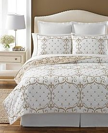 Martha Stewart Collection Paris Fleur Quilts, Only at Macy's