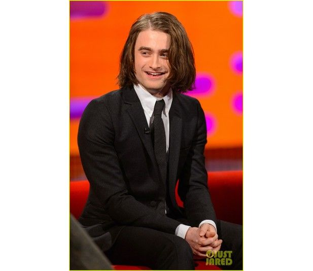Daniel Radcliffe With Long Hair Luuux Celebrities Pinterest