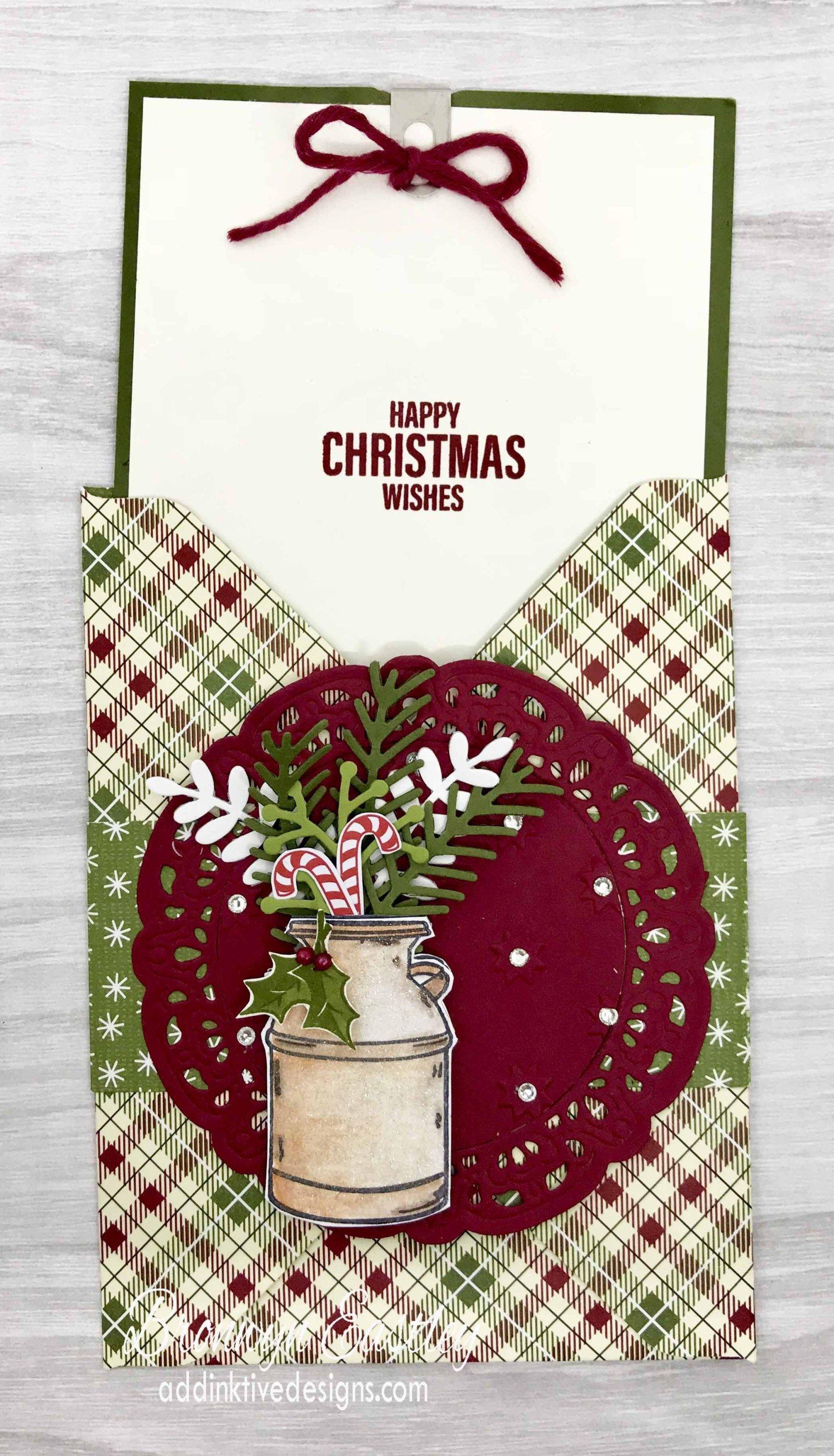 Pretty Pines Pocket Card