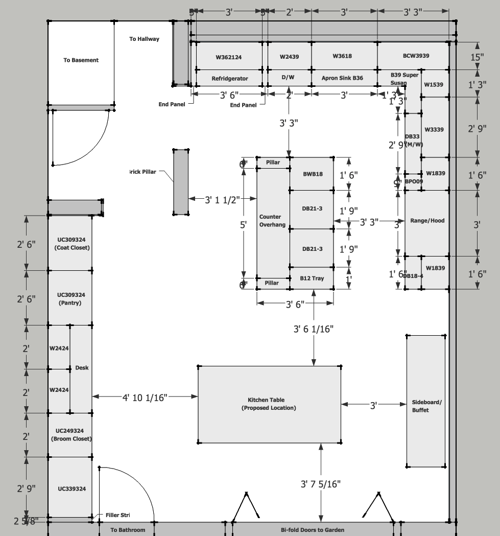 Kitchen Layout Inside Basic Kitchen Layout Ideas Allkitchenideas Charlottetown Co Kitchen Floor Plans Large Kitchen Layouts L Shape Kitchen Layout