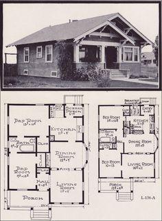1920s Craftsman Bungalow House Plans Craftsman Bungalow House Plans Craftsman House Plans Bungalow Floor Plans